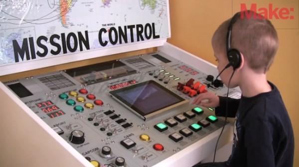 Пункт управления полетами, как в NASA