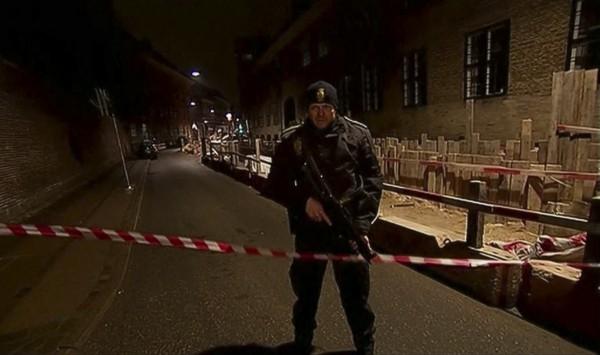 Теракты в Копенгагене: стрельба в кафе и синагоге. Полиция объявила усиленное патрулирование