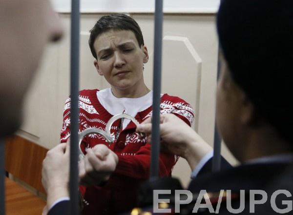 Савченко рассказала об избиениях пленных боевиками