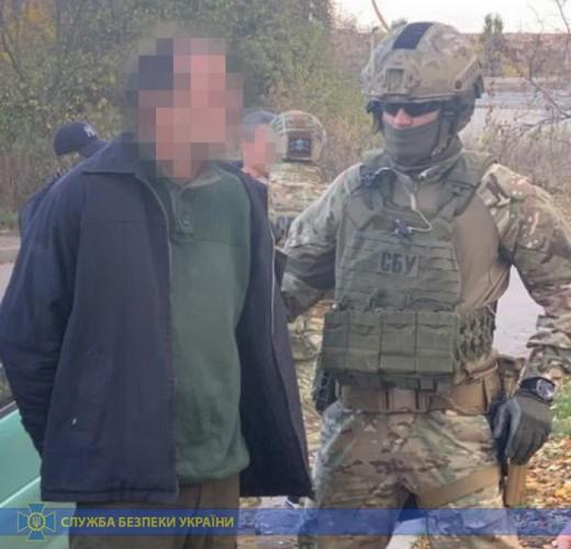 Житель Черкасской области был завербован кадровым офицером ФСБ РФ