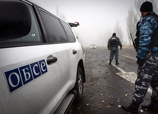 Миссия ОБСЕ зафиксировала взрывы в Горловке