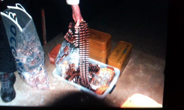 Водолазы нашли пулеметную ленту возле Межигорья