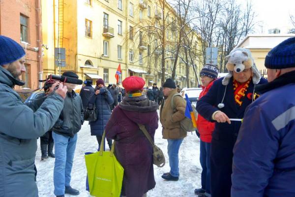 Инициатором акции выступило местное демократическое движение Солидарность