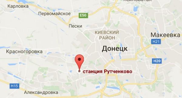 Рутченково на карте района