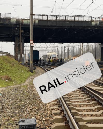 Авария произошла на станции Дарница