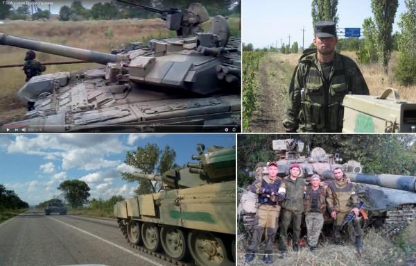 Управляли танками военные 136-й мотострелковой бриады