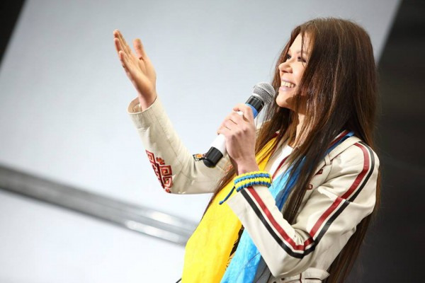 Руслана Лыжичко - голос Евромайдана