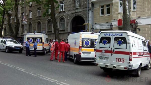 Милиция подтвердила, что есть пострадавшие