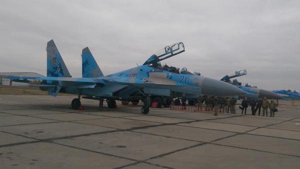 Порошенко совершил полет на Су-27