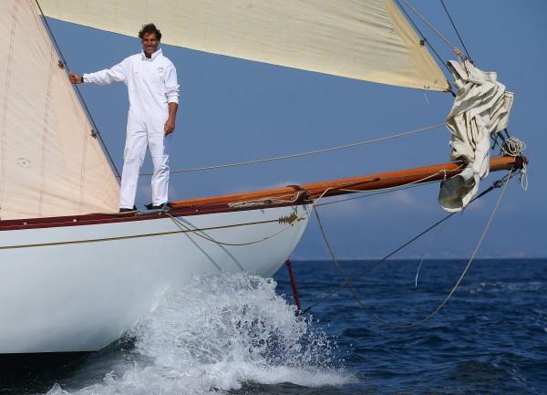 Рафаэль Надаль совершил прогулку на яхте