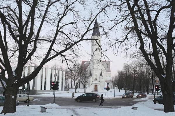 Центр города Шяуляй