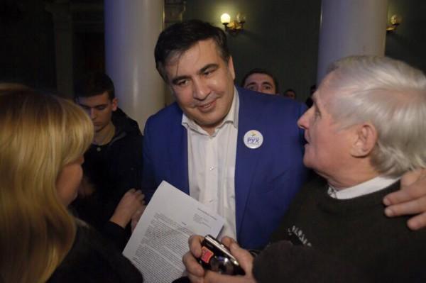 Саакашвили никто не увольнял