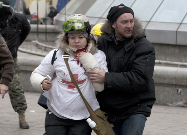 Леся Жуковская после ранения