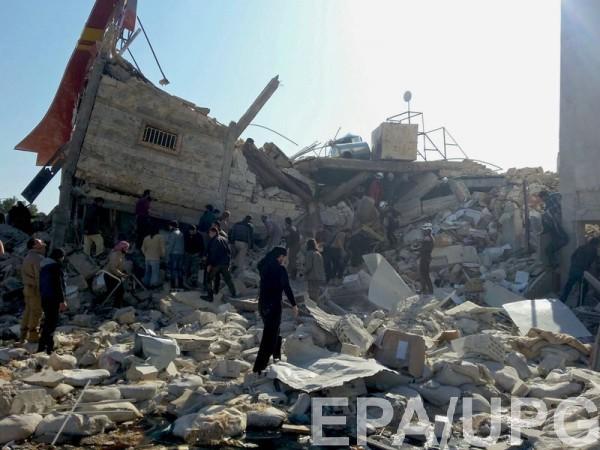 В Сирии обстреляли школу и больницу