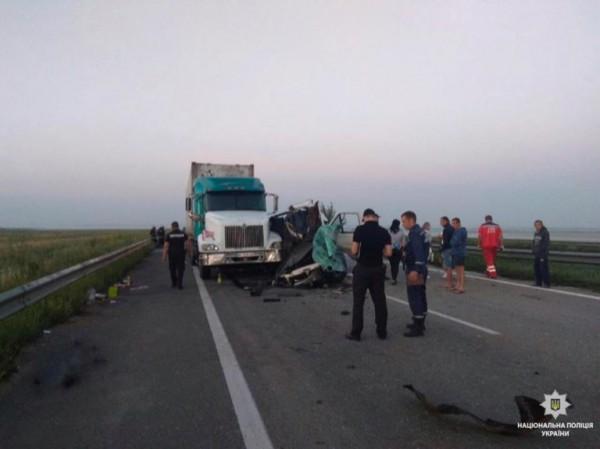 ДТП произошло на трассе Киев-Одесса