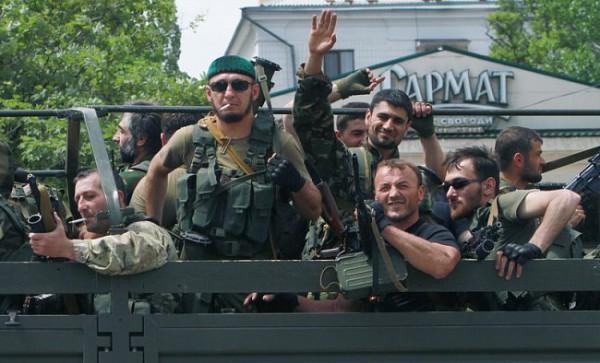 Чеченцы-патриоты Донбасса защищают русских - Бородай