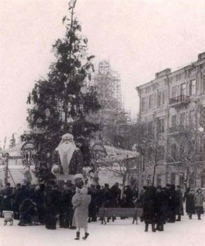 Новогодняя елка в 1954 году