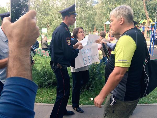 В российской столице задержали кандидата в народные избранники заподдержку матерей Беслана