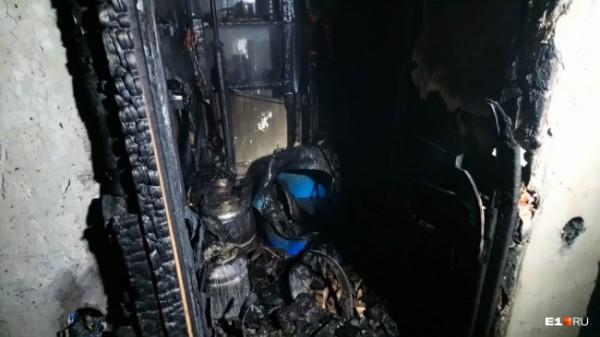 Последствия взрыва и пожара