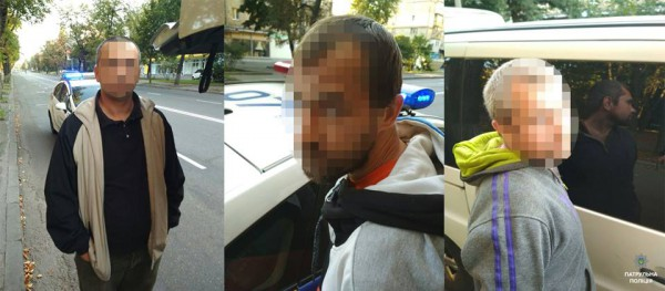 Задержанных доставили в Подольское отделение полиции