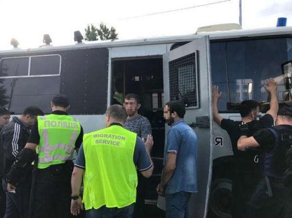 Всего были задержаны 59 нелегальных мигрантов