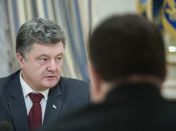 Порошенко и Турчинов провели совещание с силовиками