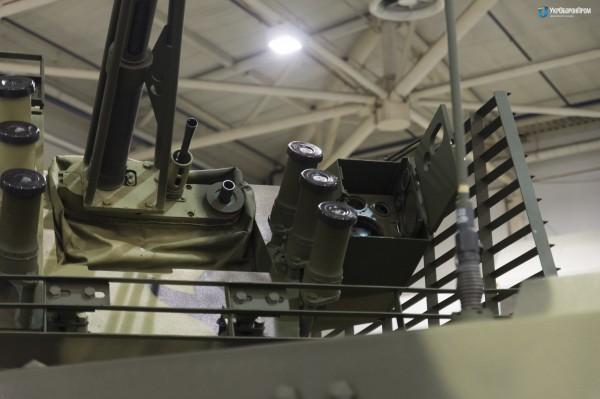 Новый БТР-4МВ1 на выставке Оружие и безопасность-2017