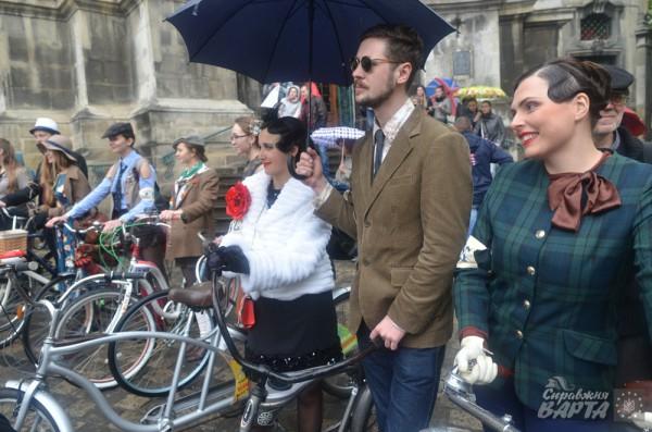 Ретрозаезд на велосипедах во Львове, 2 мая