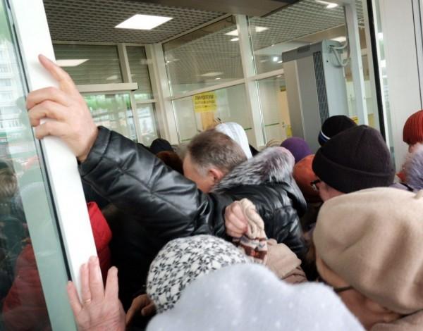 Толпы россиян штурмуют Leroy Merlin