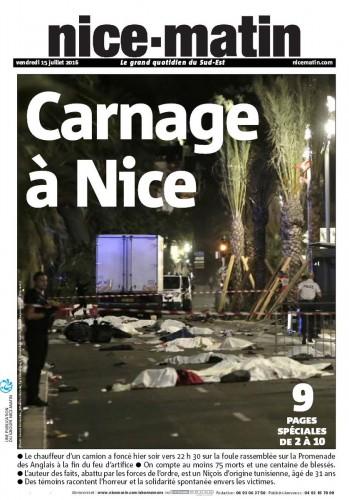 Теракт в Ницце произошел поздно 14 июля