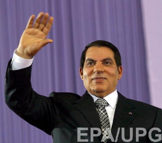 Зин эль-Абидин Бен Али получил убежище в Саудовской Аравии