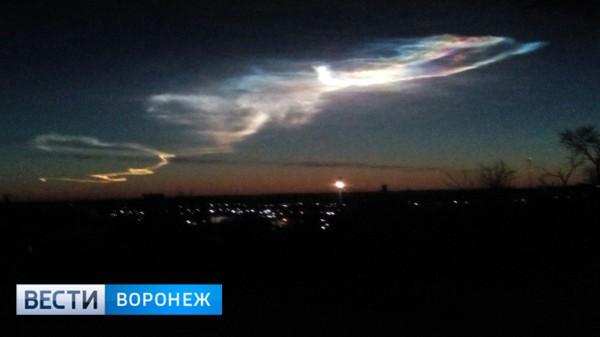 Очевидцы предполагают, что это мог быть запуск межконтинентальной ракеты