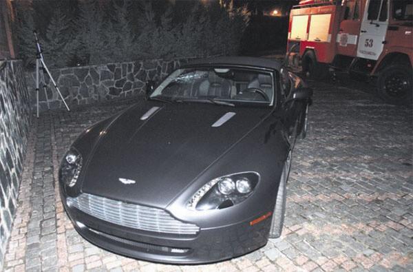 Aston Martin Vantage семьи Симоненко