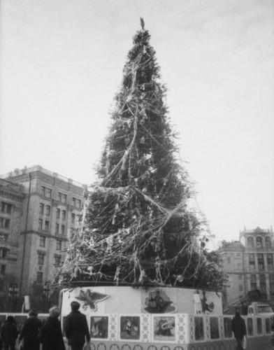 Новогодняя елка в 1988 году