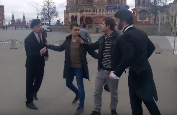 Ленин повздорил с Пушкиным из-за клиента