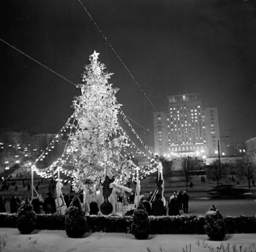 Новогодняя елка в 1962 году