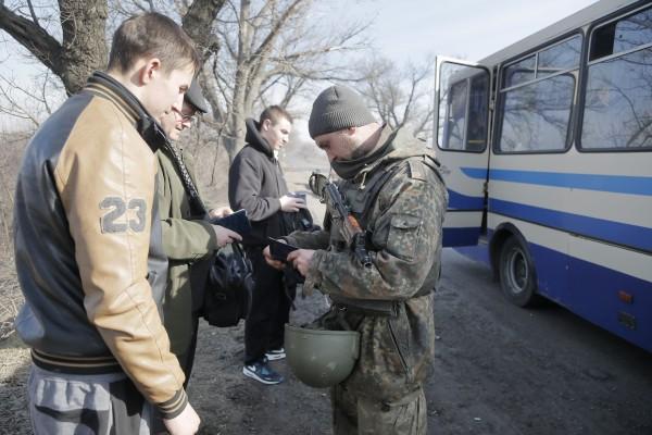 Роль пропусков будет выполнять обычный паспорт гражданина Украины