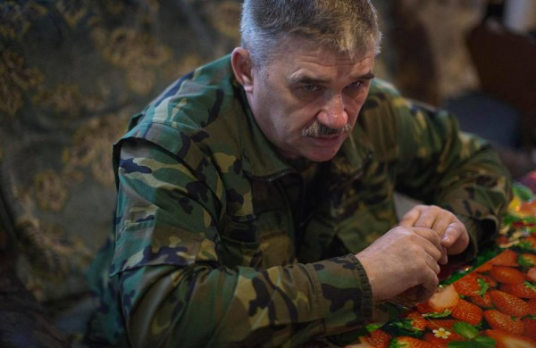 Михаил Бустабаев, майор советской армии
