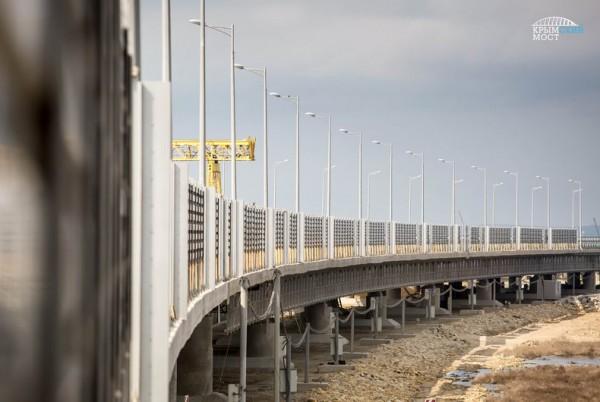 Экраны установят на участках сопряжения моста с береговой линией