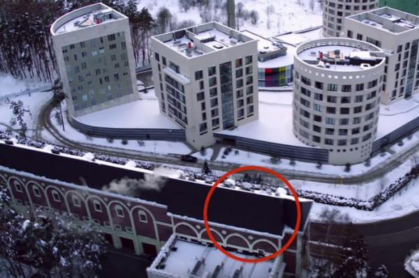 Здание-ширма