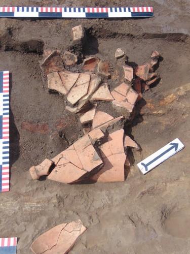 Некоторые находки на раскопе