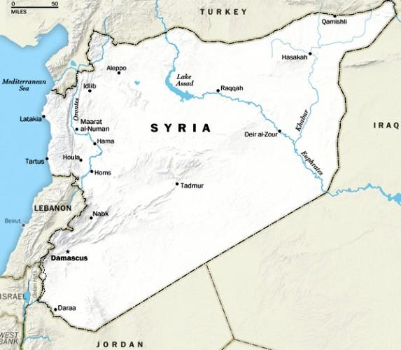 Полеты над территорией Сирии прекращены