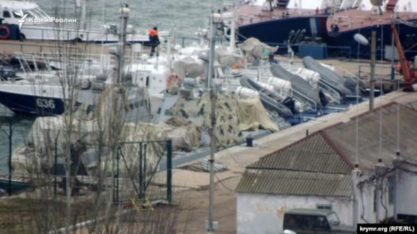 Корабли захватили еще в ноябре 2018 года