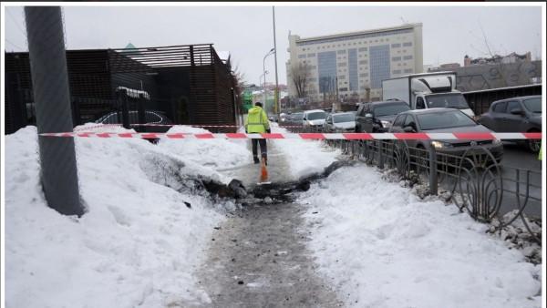 Вцентре Киева прогремел сильный подземный взрыв