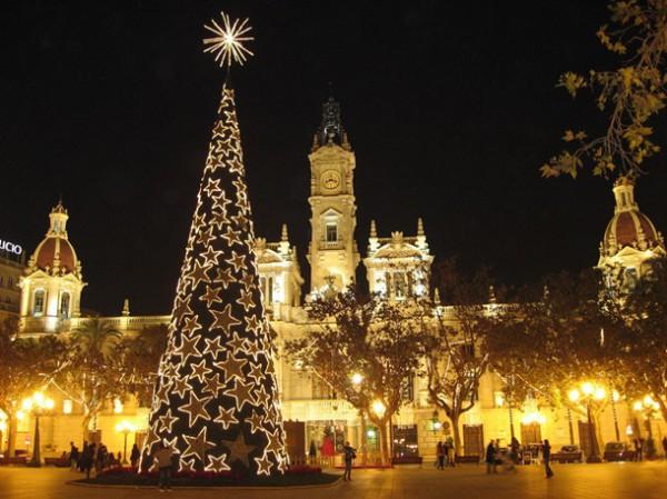 Испания на новый год