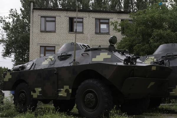 БРДМ-2 модернизировали на заводе в Николаеве