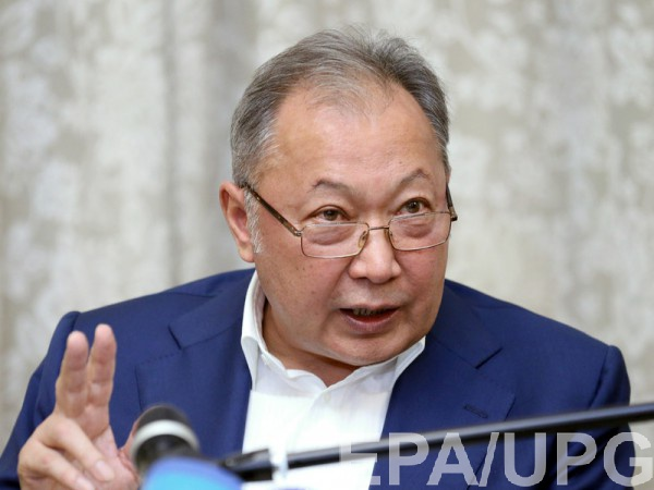 Экс-президент Бакиев бежал в Минск