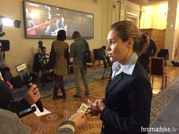 Королевская рассказала о допросе в ГПУ