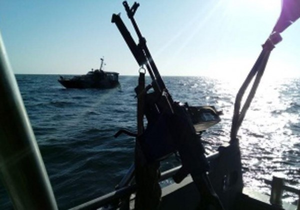 Отрабатывалась атака противника с Азовского моря