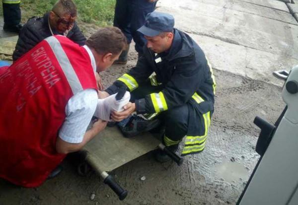 Подростка доставили в больницу